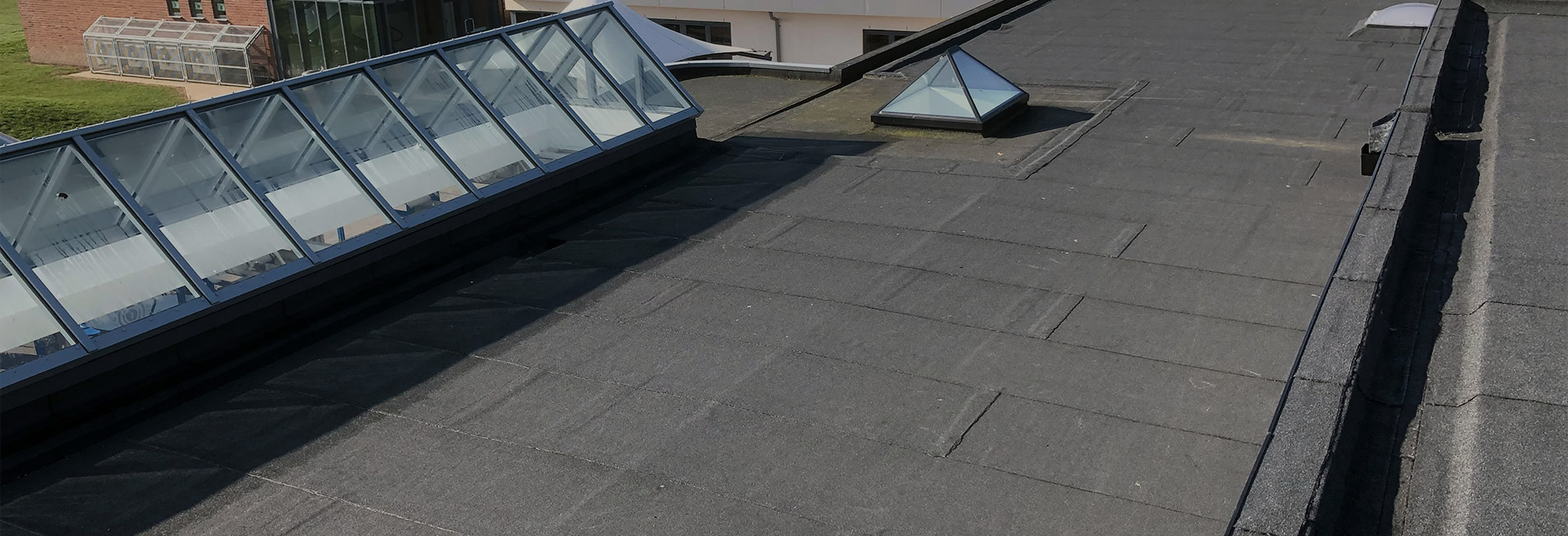 Specialists in all aspects of commercial and industrial flat roofing from a family company with over 50 years experience in the industry